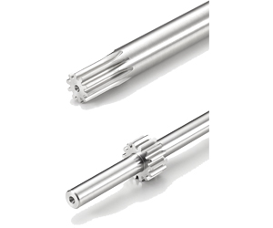 304 STAINLESS STEEL SPUR GEAR SHAFTS