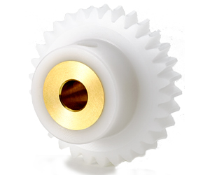 PLASTIC WORM GEARS with BRASS BUSH